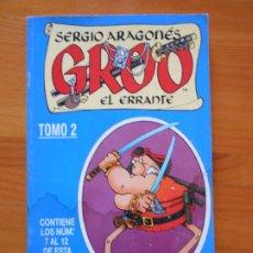 Cómics: GROO EL ERRANTE TOMO Nº 2 - NUMEROS 7 AL 12 - SERGIO ARAGONES - FORUM - LEER DESCRIPCION (GC). Lote 204991826