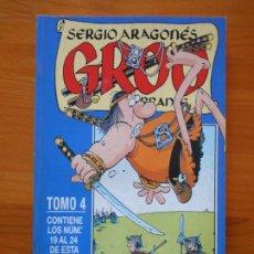 Cómics: GROO EL ERRANTE TOMO Nº 4 - NUMEROS 19 A 24 - SERGIO ARAGONES - FORUM - LEER DESCRIPCION (GC). Lote 204992320