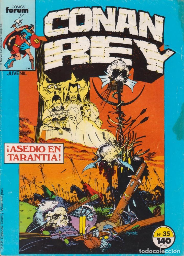 CÓMIC MARVEL ` CONAN REY ´ Nº 35 ED.PLANETA / FORUM (Tebeos y Comics - Forum - Conan)