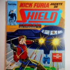 Cómics: NICK FURIA AGENTE DE SHIELD Nº 7 : LA SERPIENTE DEL CAOS 1. Lote 205014612