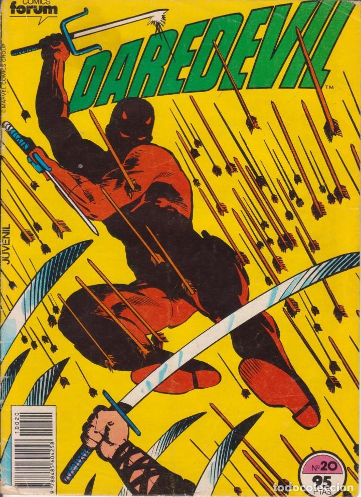 CÓMIC MARVEL ` DAREDEVIL ´ Nº 20 ED.PLANETA / FORUM 1983 (Tebeos y Comics - Forum - Daredevil)