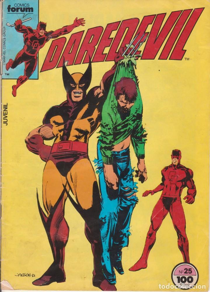 CÓMIC MARVEL ` DAREDEVIL ´ Nº 25 ED.PLANETA / FORUM 1983 (Tebeos y Comics - Forum - Daredevil)
