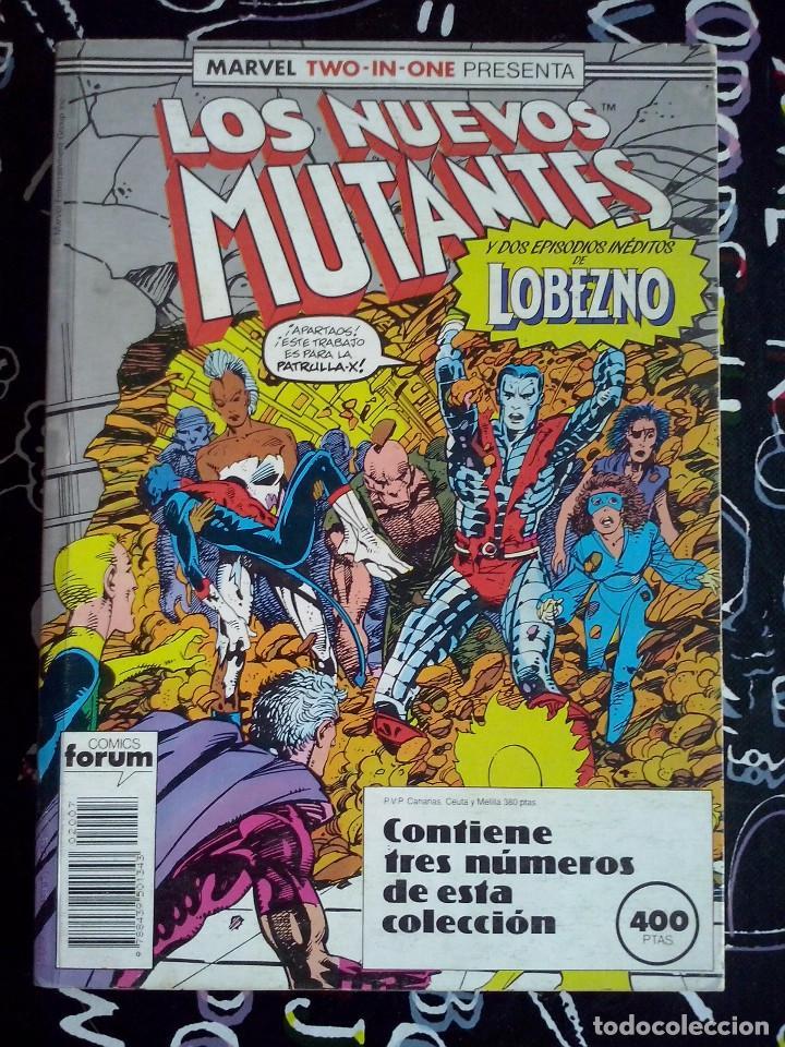 FORUM - NUEVOS MUTANTES VOL.1 RETAPADO CON LOS NUM. 45 AL 47 . BUEN ESTADO (Tebeos y Comics - Forum - Nuevos Mutantes)