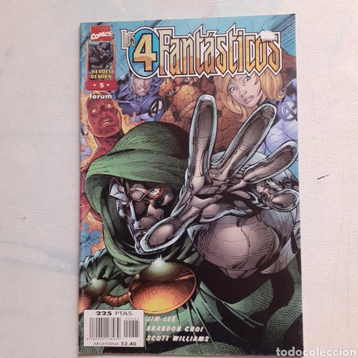 LOS 4 FANTÁSTICOS. MARVEL COMICS. FORUM. HEROES REBORN 5. (Tebeos y Comics - Forum - 4 Fantásticos)