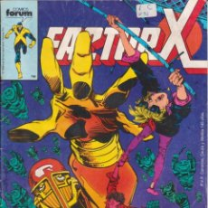 Cómics: CÓMIC MARVEL ` FACTOR X ´ Nº 20 ED.PLANETA / FORUM 1989. Lote 205073665