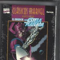 Cómics: CLASICOS MARVEL - ORIGEN ESTELA PLATEADA - PRECINTADO A ENTRENAR. Lote 205093315