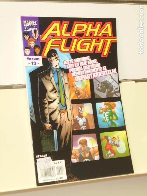 ALPHA FLIGHT VOL. 2 Nº 13 - FORUM (Tebeos y Comics - Forum - Alpha Flight)