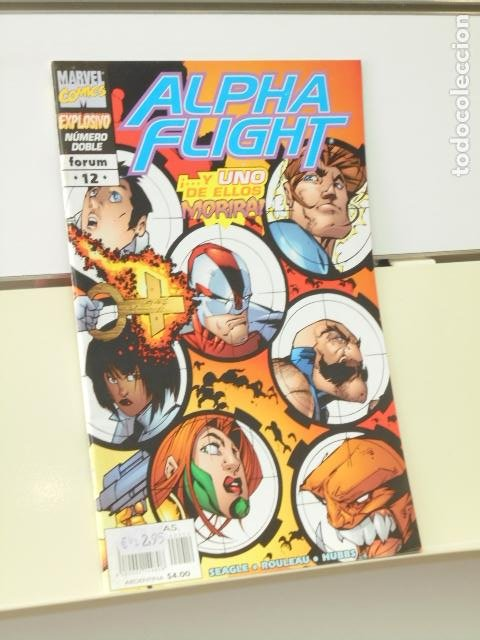 ALPHA FLIGHT VOL. 2 Nº 12 - FORUM (Tebeos y Comics - Forum - Alpha Flight)