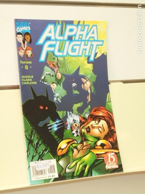 ALPHA FLIGHT VOL. 2 Nº 8 - FORUM (Tebeos y Comics - Forum - Alpha Flight)