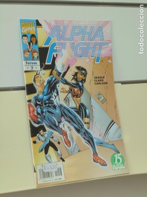ALPHA FLIGHT VOL. 2 Nº 7 - FORUM (Tebeos y Comics - Forum - Alpha Flight)