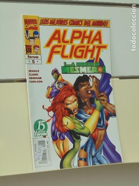 ALPHA FLIGHT VOL. 2 Nº 5 - FORUM (Tebeos y Comics - Forum - Alpha Flight)