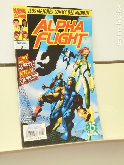 ALPHA FLIGHT VOL. 2 Nº 3 - FORUM (Tebeos y Comics - Forum - Alpha Flight)