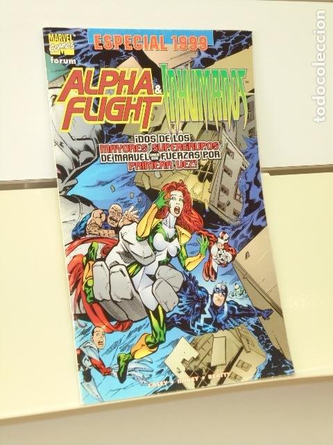 ALPHA FLIGHT & INHUMANOS ESPECIAL 1999 - FORUM (Tebeos y Comics - Forum - Alpha Flight)