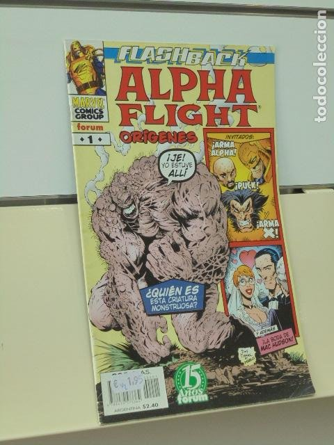 ALPHA FLIGHT FLASHBACK ORIGENES Nº 1 - FORUM (Tebeos y Comics - Forum - Alpha Flight)