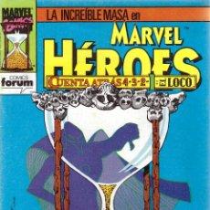 Cómics: COMIC MARVEL HEROES, Nº 69: LA MASA - CUENTA ATRÁS 1: EL LOCO. Lote 205158252