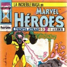 Cómics: COMIC MARVEL HEROES, Nº 68: LA MASA - CUENTA ATRÁS 2: EL LIDER. Lote 205158368
