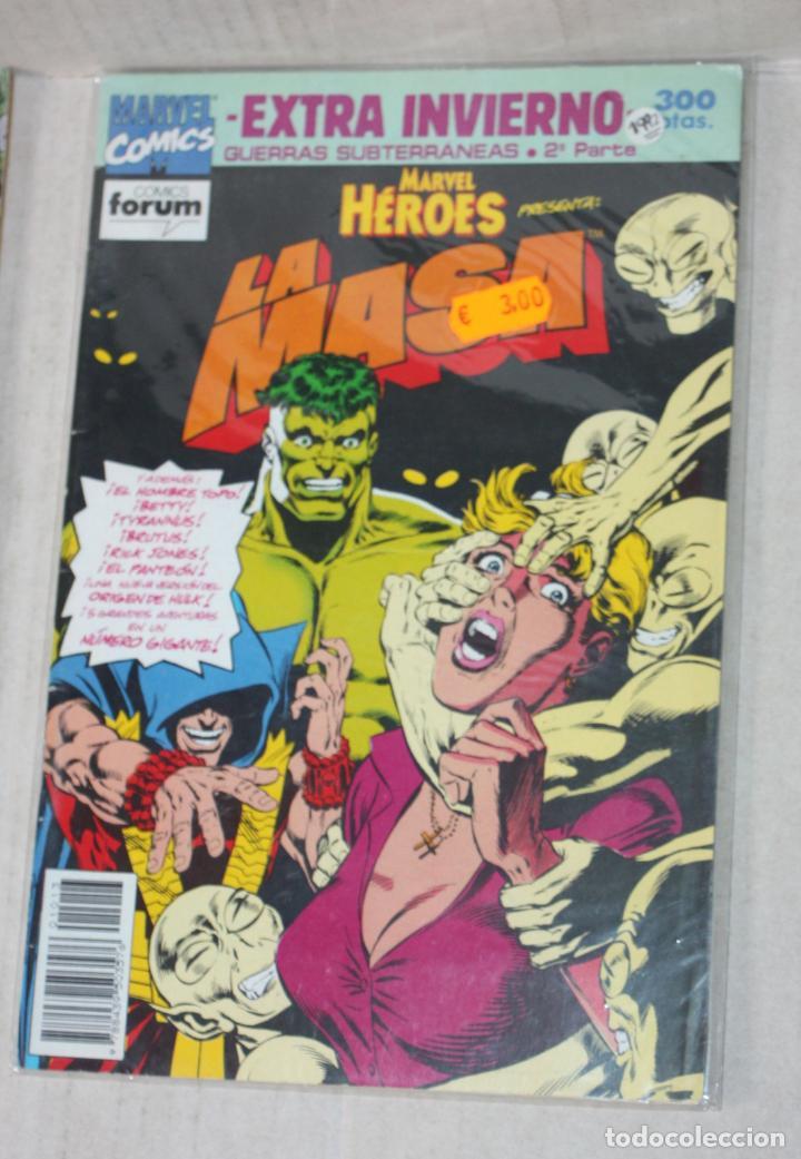 MARVEL HEROES: LA MASA EXTRA DE INVIERNO:GUERRAS SUBTERRANEAS 2ª PARTE(COMO NUEVO) (Tebeos y Comics - Forum - Hulk)