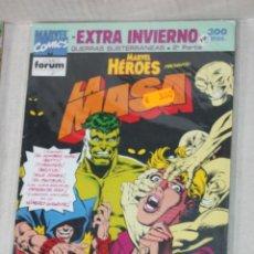 Cómics: MARVEL HEROES: LA MASA EXTRA DE INVIERNO:GUERRAS SUBTERRANEAS 2ª PARTE(COMO NUEVO). Lote 205164526