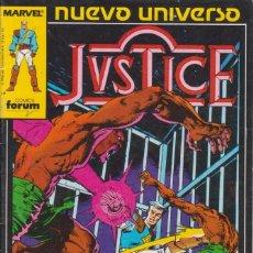 Cómics: CÓMIC ` JVSTICE ´ Nº 2 NUEVO UNIVERSO MARVEL. ED.FORUM. Lote 205179193