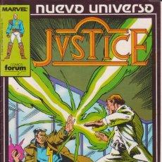 Cómics: CÓMIC ` JVSTICE ´ Nº 4 NUEVO UNIVERSO MARVEL. ED.FORUM. Lote 205180128