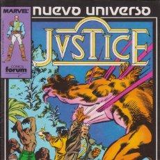Cómics: CÓMIC ` JVSTICE ´ Nº 5 NUEVO UNIVERSO MARVEL. ED.FORUM. Lote 205181041