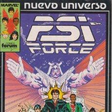 Cómics: CÓMIC ` PSI FORCE ´ Nº 1 NUEVO UNIVERSO MARVEL. ED.FORUM. Lote 205183142