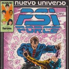 Cómics: CÓMIC ` PSI FORCE ´ Nº 5 NUEVO UNIVERSO MARVEL. ED.FORUM. Lote 205183335