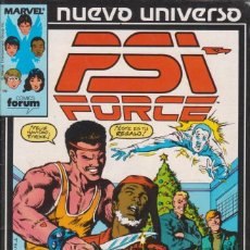 Cómics: CÓMIC ` PSI FORCE ´ Nº 6 NUEVO UNIVERSO MARVEL. ED.FORUM. Lote 205183706