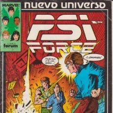Cómics: CÓMIC ` PSI FORCE ´ Nº 7 NUEVO UNIVERSO MARVEL. ED.FORUM. Lote 205183965