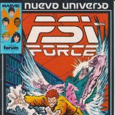 Cómics: CÓMIC ` PSI FORCE ´ Nº 8 NUEVO UNIVERSO MARVEL. ED.FORUM. Lote 205184596