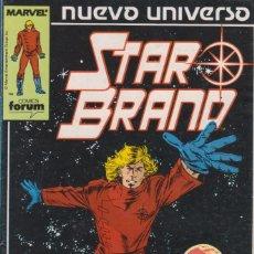 Cómics: CÓMIC ` STAR BRAND ´ Nº 1 NUEVO UNIVERSO MARVEL. ED.FORUM. Lote 205185335