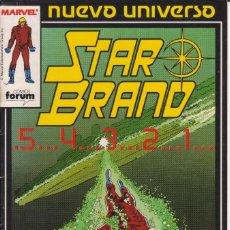 Cómics: CÓMIC ` STAR BRAND ´ Nº 2 NUEVO UNIVERSO MARVEL. ED.FORUM. Lote 205185740