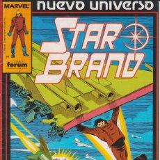 Cómics: CÓMIC ` STAR BRAND ´ Nº 3 NUEVO UNIVERSO MARVEL. ED.FORUM. Lote 205185931