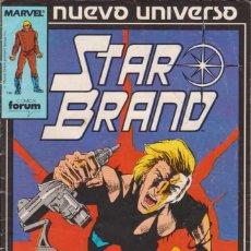 Cómics: CÓMIC ` STAR BRAND ´ Nº 5 NUEVO UNIVERSO MARVEL. ED.FORUM. Lote 205186733