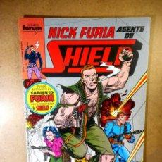 Cómics: NICK FURIA AGENTE DE SHIELD Nº 4 : RECUERDOS. Lote 205233377
