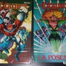Cómics: EXCALIBUR 51 Y EXCALIBUR LA POSESION LOTE 2 PRESTIGIOS MUY BUEN ESTADO. Lote 205324840