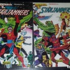 Cómics: PATRULLA-X PRESENTA: STARJAMMERS (FORUM) - COMPLETA- PRESTIGIOS 1 Y 2 EXCELENTE ESTADO. Lote 205325013