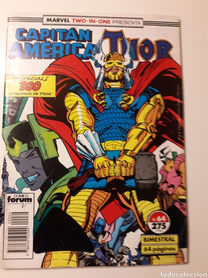 THOR CAPITÁN AMÉRICA NUM 64. FÓRUM (Tebeos y Comics - Forum - Thor)
