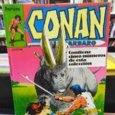 Cómics: CONAN EL BÁRBARO - CONTIENE 5 NÚMEROS - DEL 146 AL 150 - RETAPADO. Lote 205353267