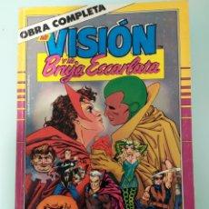 Cómics: LA VISIÓN Y LA BRUJA ESCARLATA FORUM OBRA COMPLETA. Lote 205396550