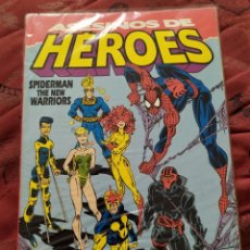 Cómics: ASESINOS DE HEROES SPIDERMAN NEW WARRIORS. Lote 205397375