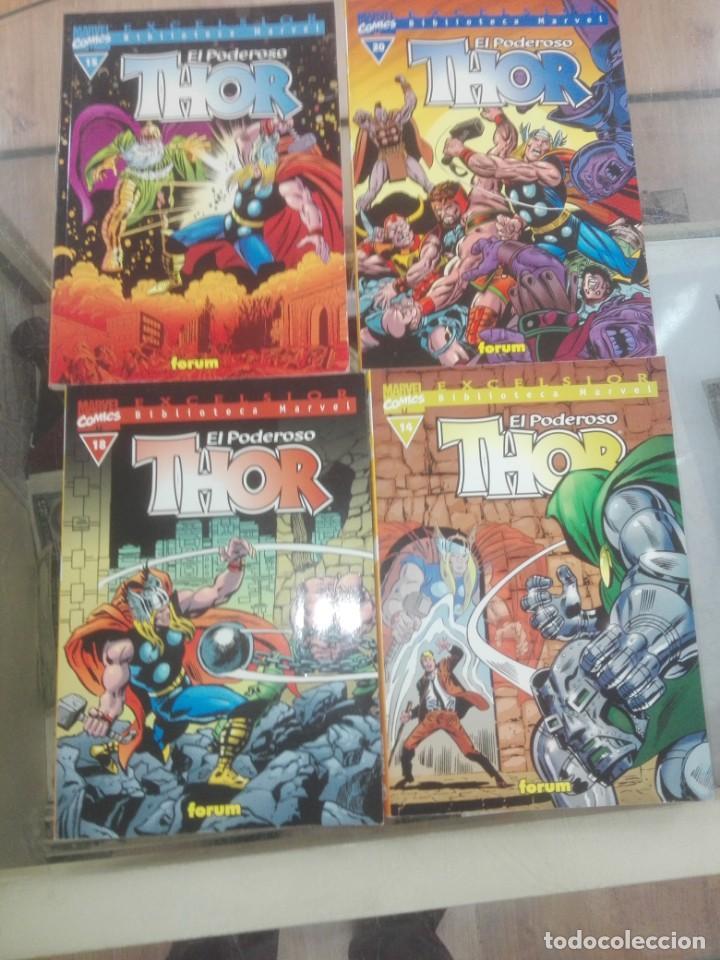 BIBLIOTECA MARVEL EXCELSIOR EL PODEROSO THOR 13 NUMEROS- FORUM (Tebeos y Comics - Forum - Thor)