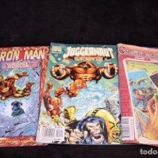 Cómics: LOTE COMICS SPIDERMAN IRON MAN JUGGERNAUT. Lote 205458126
