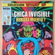 Cómics: COLECCION WHAT IF Nº 5 LOS 4 FANTÁSTICOS ¿Y SI LA CHICA INVISIBLE HUBIERA MUERTO?. Lote 205465042