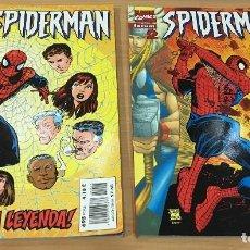 Cómics: LOTE DE 2 CÓMICS MARVEL - SPIDERMAN Nº 1 Y Nº 2 - RENACE LA LEYENDA. CÓMIC FORUM, 2000. Lote 162964830