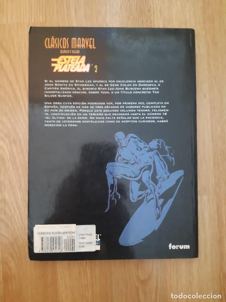 Cómics: Estela Plateada,Marvel,Forum,Clasicos en blanco y negro - Foto 2 - 205516557