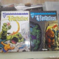 Cómics: LOS 4 FANTASTICOS BIBLIOTECA MARVEL EXCELSIOR Nº 1 Y 2. Lote 205524016