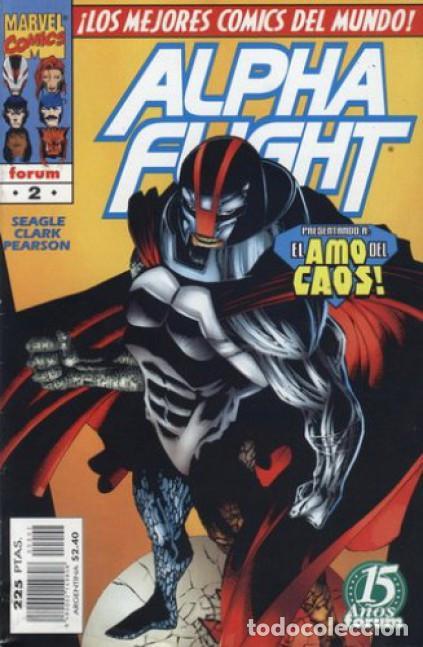 ALPHA FLIGHT VOL. 2 Nº 2 EDITORIAL PLANETA-DEAGOSTINI, (Tebeos y Comics - Forum - Alpha Flight)