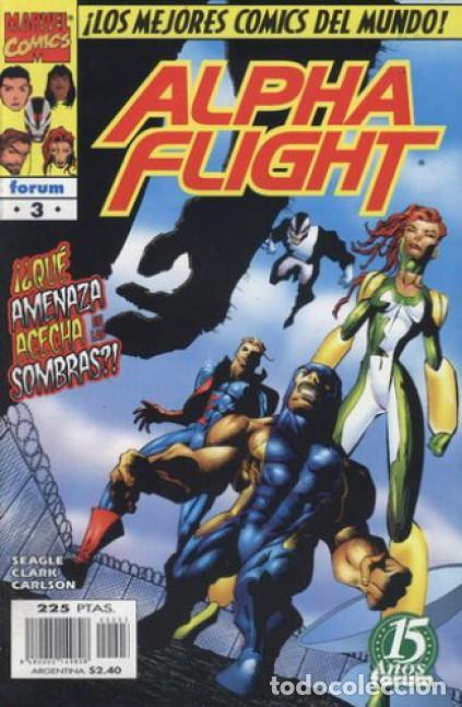 ALPHA FLIGHT VOL. 2 Nº 3 EDITORIAL PLANETA-DEAGOSTINI, (Tebeos y Comics - Forum - Alpha Flight)