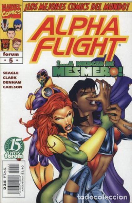 ALPHA FLIGHT VOL. 2 Nº 5 EDITORIAL PLANETA-DEAGOSTINI, (Tebeos y Comics - Forum - Alpha Flight)